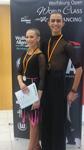 Bronzové medaile v taneční soutěži