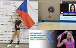 Barbora Karlíková reprezentovala na Evropě