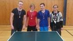 Dvojnásobné vítězství ve stolním tenisu