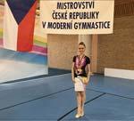 Mistryně České republiky v moderní gymnastice v kombinovaném programu
